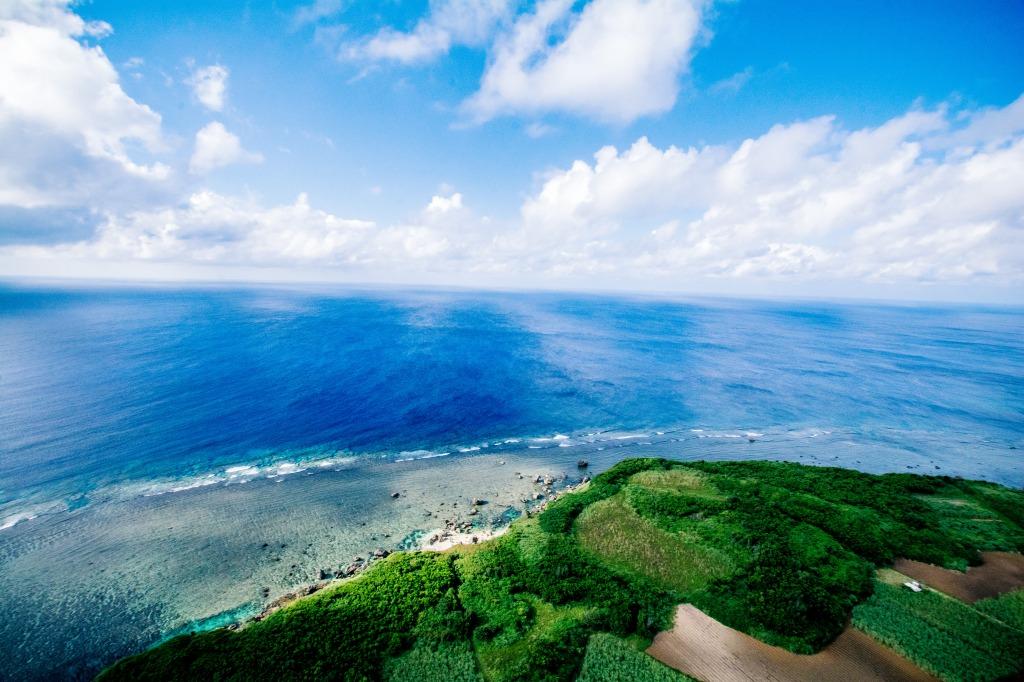バルーンが見た宮古島の水平線