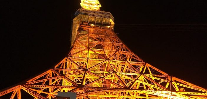 東京タワーカフェにて展示