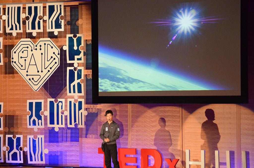 TEDx バルーン宇宙撮影